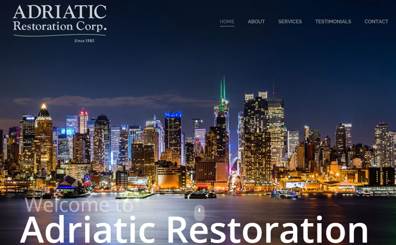Commercial Building Restoration Services in NJ and NY area.