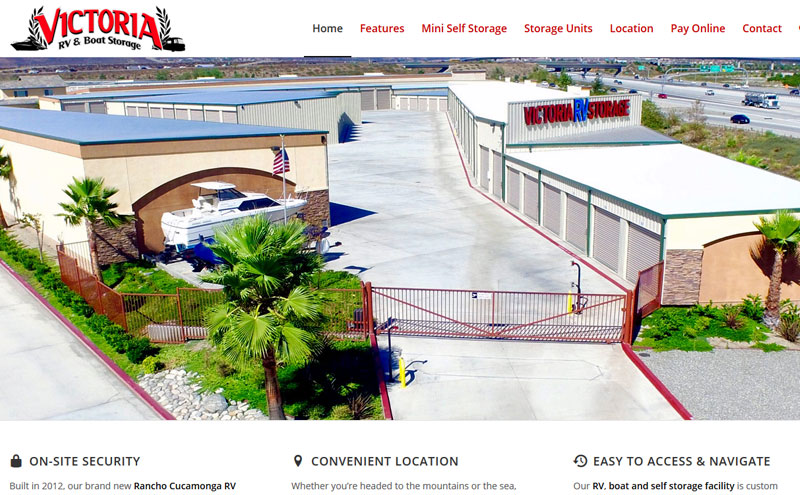 Victoria RV Storage - Rancho Cucamonga, CA